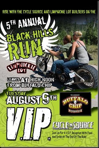 Black Hills Run Lams