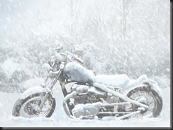 Motorcycle-in-Snow-37287